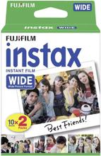 eStore FUJIFILM - 20-PACK Instax Wide Kamera Film 200 / 210 / 300