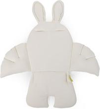 CHILDHOME Universell barnstolsdyna kanin vit