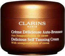 Clarins Delicious Self Tanning Cream, 125 ml
