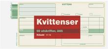 ESSELTE Blankett kvittens A65(210x105)50st 11116 Replace: N/AESSELTE Blankett kvittens A65(210x105)50st