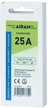 AIRAM Airam smältpropp 25A, 5-pack 6435200173799 Replace: N/AAIRAM Airam smältpropp 25A, 5-pack