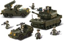 Sluban Byggblock - Army Set