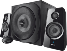 Tytan 2.1 Subwoofer Speaker Set with Bluetooth - Black
