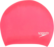 speedo Long Hair Cap ecstatic/magenta/pink splash 2020 Badehetter