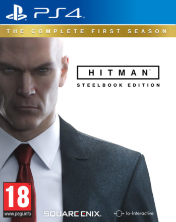 Hitman The Complete First Season PS4 Steelbook Edition