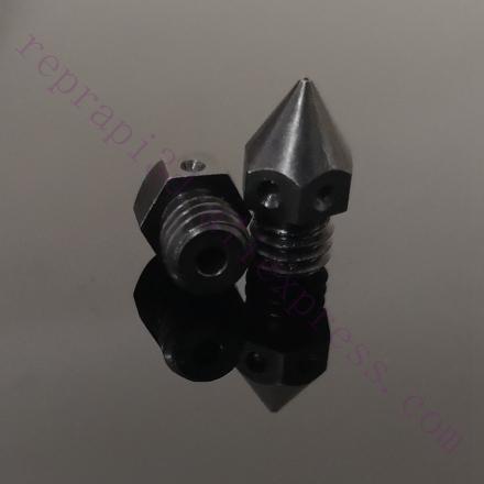 2x Sharp MK8 Hardened Tool Steel Nozzle 0.4 F/ Makerbot Micro Swiss Creality CR-10 Ender 3 Ender4, CraftBot, Prusa i3 3D printer