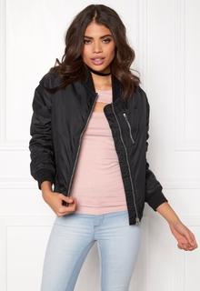 Rut & Circle Kate Front Zip Jacket Black 34