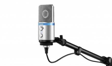 IK Multimedia iRig Mic Studio mikrofon Digital - sølv