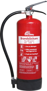 Nexa Fire & Safety fire-extinguisher 6kg 55A Red