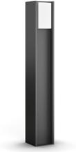 Philips Hue Turaco hög trädgårdslampa - Vit/Antracit
