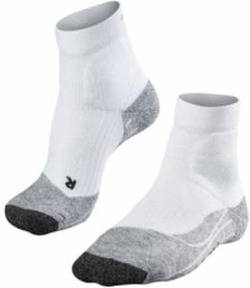Falke - Falke Te2 Kort Herr tennis strumpor (vit/grå) - 46-48