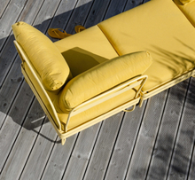 Ygg & Lyng Bris 2-seters utendørs modulsofa Summer Yellow