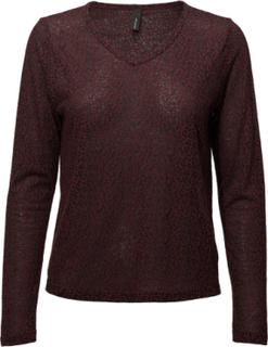 Sc-Magga Langærmet T-shirt Rød Soyaconcept
