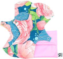 Anavy - SLIP (Slipeinlagen) - Baumwolle (21x7cm) - 2 Stück & Beutel - Abby Rose Night