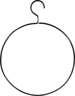 TRADEMARK LIVING bøjle - jern m. klar lak, rund (Ø 45)