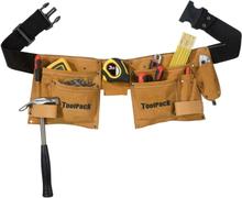 Toolpack Verktygsbälte med två fickor Hobby läder 366.020