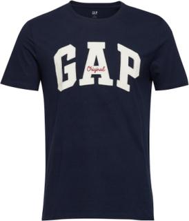 Gap Logo Crewneck T-Shirt T-shirt Blå GAP