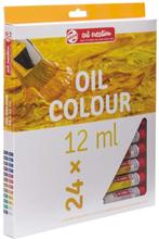 Oljefärger Art Creation Färgset 12 ml - 24 färger
