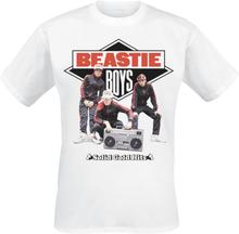 Beastie Boys - White Solid Gold Hits -T-skjorte - hvit