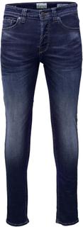 ONLY and SONS - Weft Med Blue -Jeans - blå