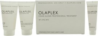 Olaplex Treatment Kit 3 Step Presentset 15ml Bond Multiplier + 15ml No.2 Bond Protector + 15ml No.3 Bond Protector