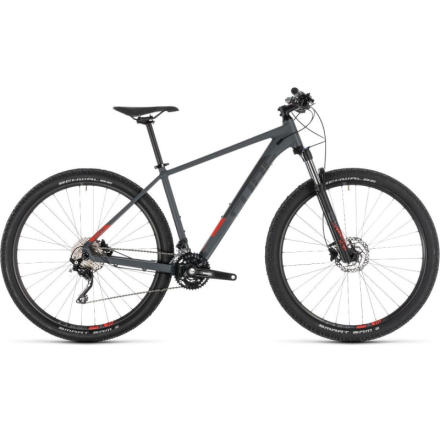 Cube Attention Unisex Hardtail MTB Grå 19