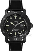 Timex TW2U01800 Musta/Nahka Ø42 mm