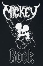 Mickey Mouse - Rock -T-skjorte - svart
