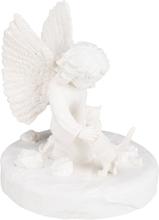 TRIXIE Minnessten katt med ängel vit 38419