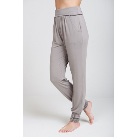 Long Harem pants yogabyxa (Färg: Cloud, Storlek: XL)