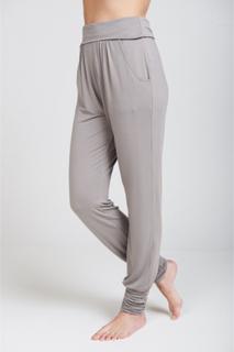Long Harem pants yogabyxa (Färg: Cloud, Storlek: XS)