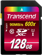 Transcend SDXC 128GB CL10 UHS-I U1 600x