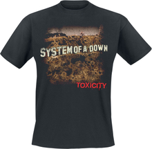 System Of A Down - Toxicity -T-skjorte - svart