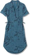 Women's Spotless Traveler Dress Short Sleeve Sininen M