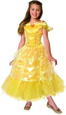 Gul balklänning - Prinsessdräkt för barn