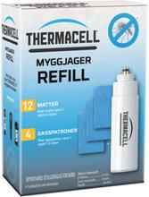 Thermacell 4-PK Refill Pakke 4 gasspatron og 12 matter
