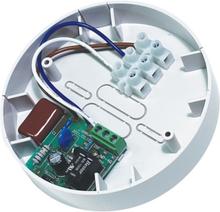 Life monteringsdosa med relä för brandlarm 230V, vit