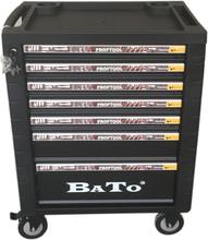 BATO Verktygsvagn 9107, 7 lådor Svart