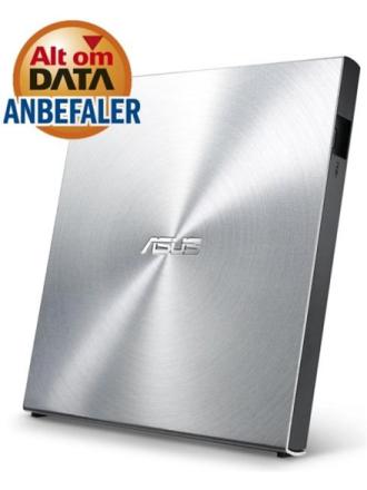 SDRW-08U5S-U - DVD-RW (Brænder) - USB 2.0 - Sølv