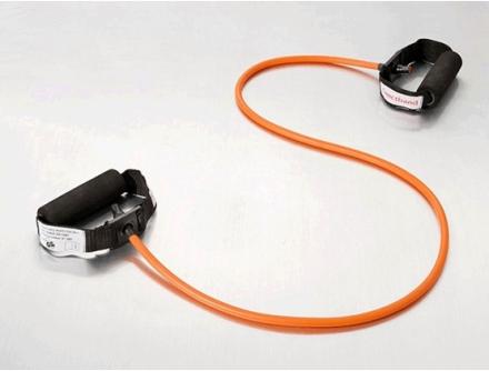 Sanctband Tubing with Handles Orange/Light
