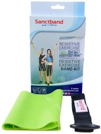 Sanctband Resistive Exercise Band Medium 2 m