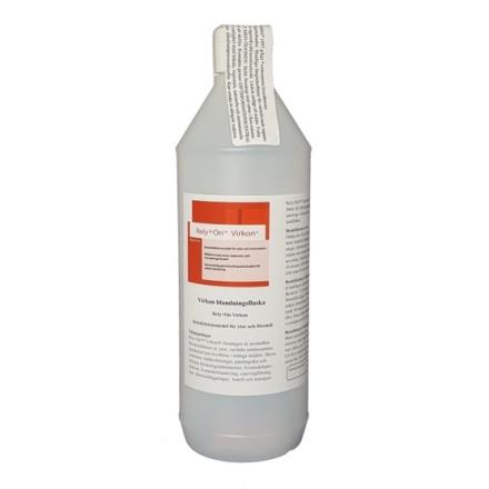 Virkon blandningsflaska 1 liter inkl 1 påse