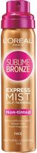 L'Oréal Paris Sublime Bronze Self-Tanning Dry Mist for Face 75 ml