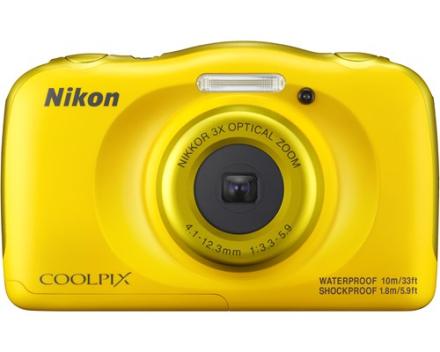 Nikon Coolpix W100 Gul (VQA013E1)