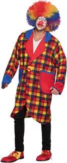 Oversize clownjacka för vuxna till maskeraden One-size