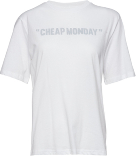 Perfect Tee Cheap Review T-shirt Top Hvid Cheap Monday