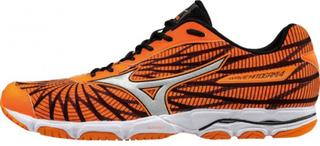 Mizuno - Wave Hitogami 4 men's running shoes (orange/black) - EU 44,5 - UK 10