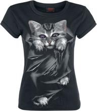 Spiral - Bright Eyes - T-shirt - svart