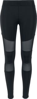 Urban Classics - Ladies Tech Mesh Leggings - Leggings - svart