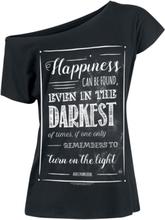 Harry Potter - Albus Dumbledore - Happiness Can Be Found -T-skjorte - svart